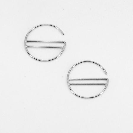 Hahn Jewelry  Mini Sunset Hoops - Sterling