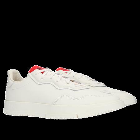 Adidas 424 x SC Premier - Chalk White/Chalk White/Scarlet
