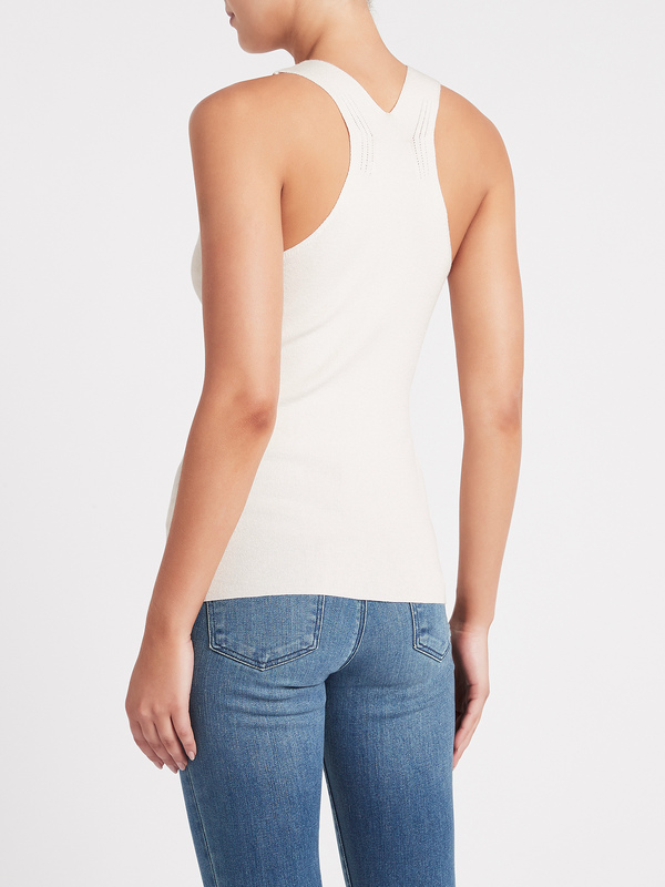 C & M Camilla And Marc Harlow Tank - White