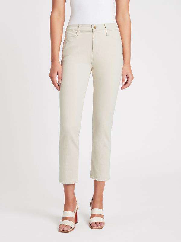 FRAME Denim Le High Straight Jean - Winter White