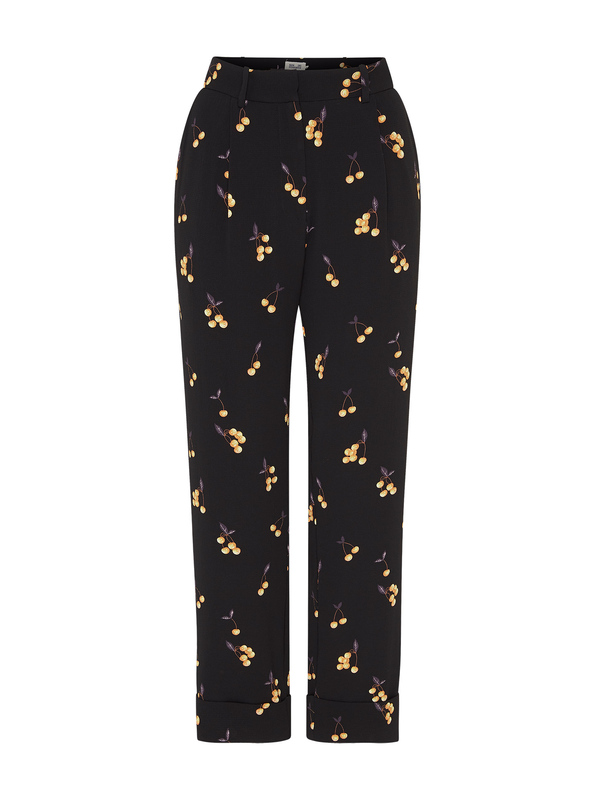 Baum und Pferdgarten Narethe Pants - Black/Orange Cherry