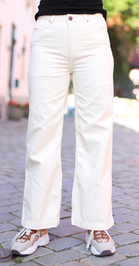 Just Female Rilo Denim - Antique White