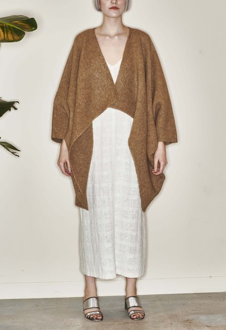 Lauren Manoogian Double Face Cocoon - CAMEL MELANAGE