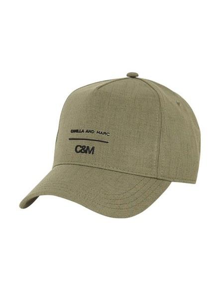 C & M Camilla And Marc George Fabric Cap - Dusty Khaki