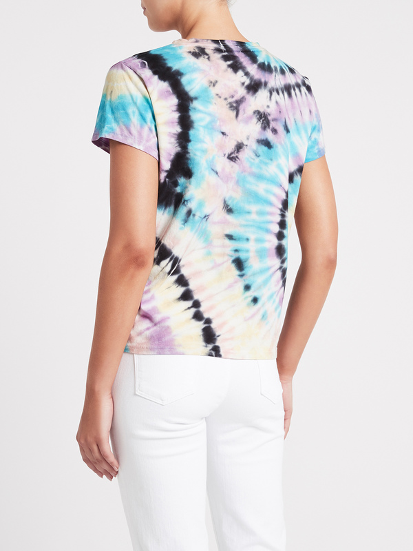 Mother Denim The Boxy Goodie Goodie Tee - Swirling Secrets