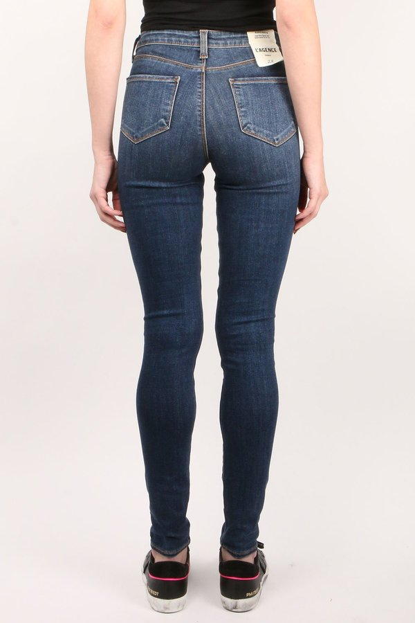 L'agence Marguerite High Rise Skinny Jeans - Fleetwood