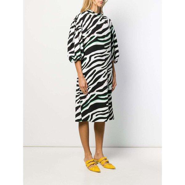 Vivetta Printed Dress - Bianco Nero