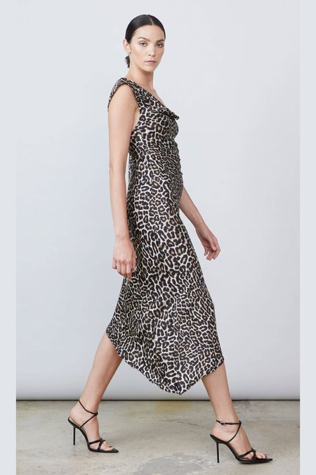 Allen Schwartz Everly Dress - Leopard Print