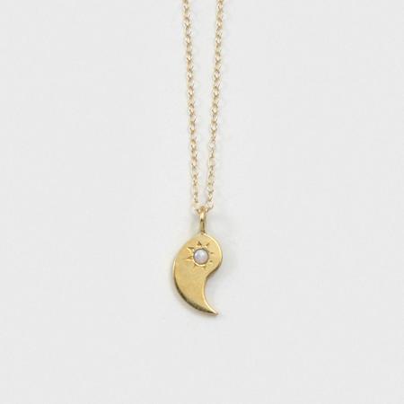 Merewif Yin Yang BFF Set - Gold Plated Brass