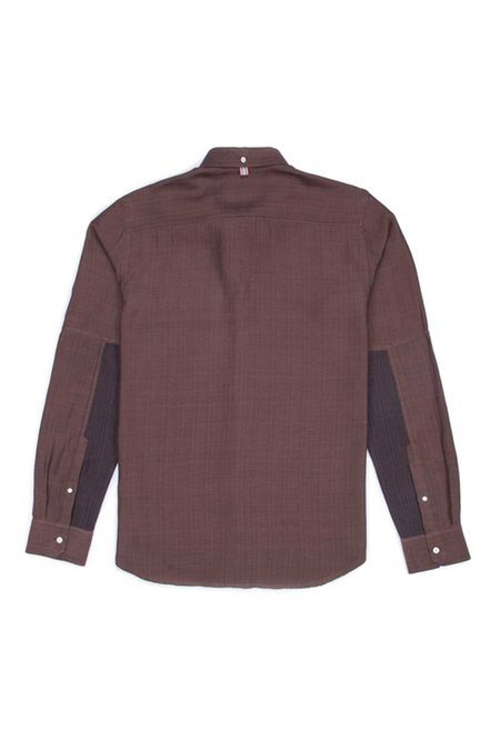 KARDO Stevie Brown Herringbone Shirt