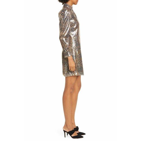 Sea NY Print Mini Dress - Leo Sequin