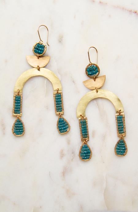 Alchemilla Temperance Earrings