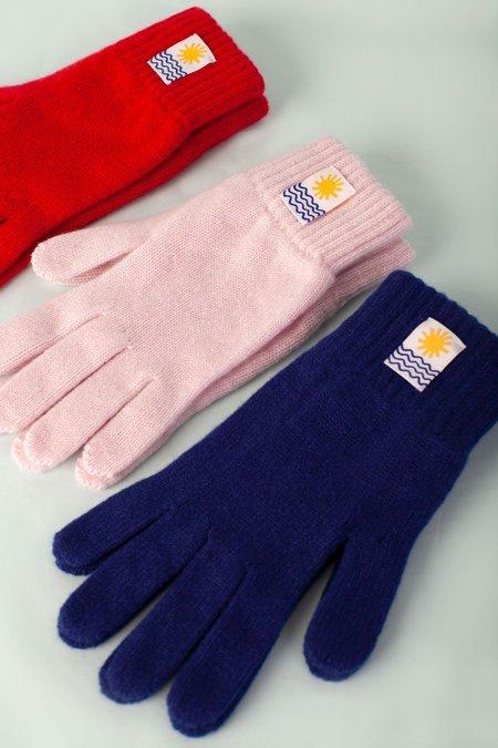 Unisex L.F.Markey Cashmere Gloves - Tuareg