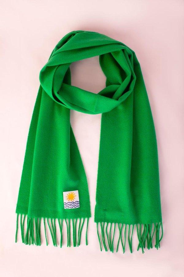 Unisex L.F.Markey Cashmere Scarf - Green