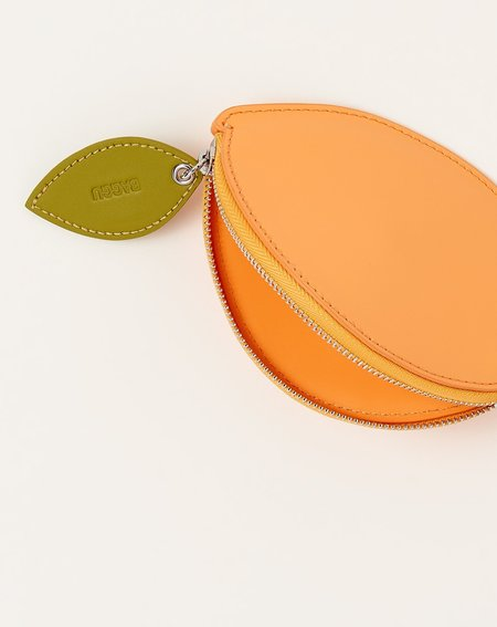BAGGU Fruit Pouch - Orange Sherbert