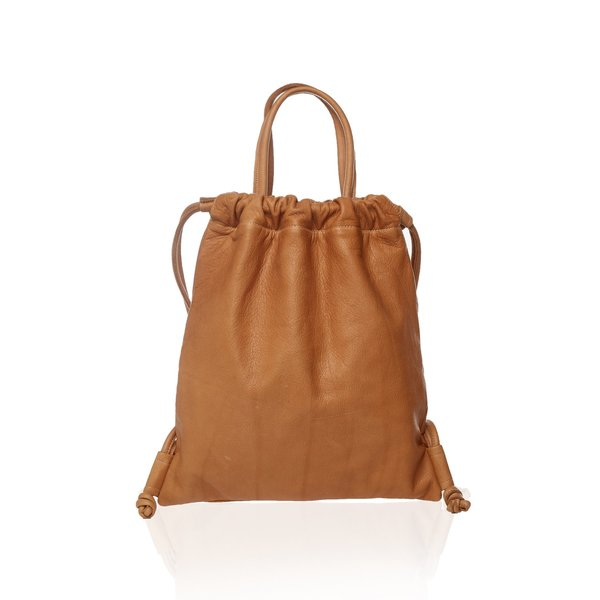 Marie Turnor The Nouveau BackPack - Pebble Camel