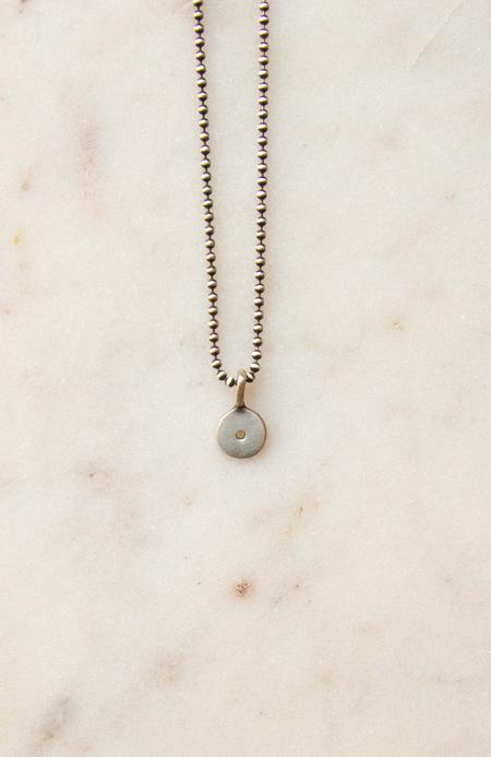 Jane Diaz NY Tiny Dot Charm - sterling silver