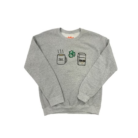 Good Deeds Coffee Weed and Cigarettes Crewneck