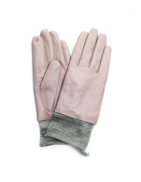 Undercover Leather Gloves - Pink