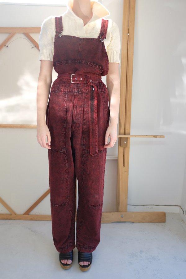 Rachel Comey Meg Overalls - Red