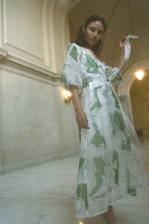 Kamperett Loretta Midi Dress