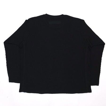 Wonders Universal Waffle Shirt - Black