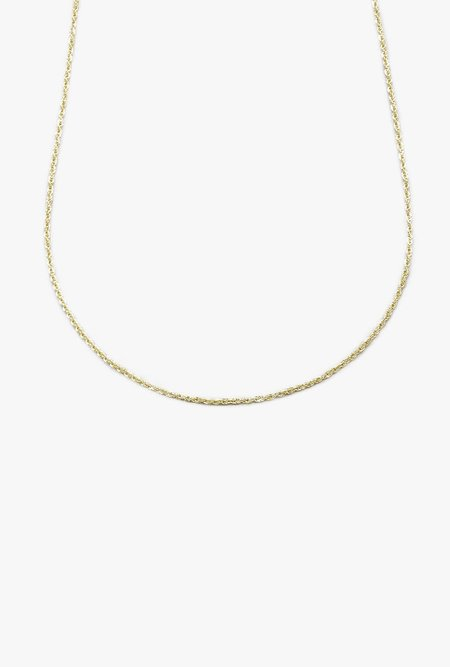 "Loren Stewart 16"" Lightweight Rope Chain - 10K GOLD"