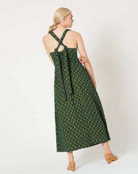 ace & jig Willa Dress - fern