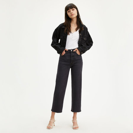 Levi's Ribcage Straight Ankle - Feelin' Cagey