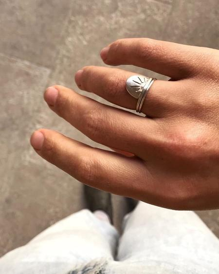 Argent Silversmith Sunrise Ring - Sterling Silver
