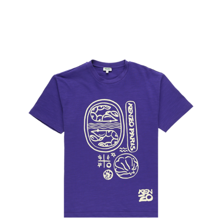 Kenzo Slubbed Short Sleeve T Shirt