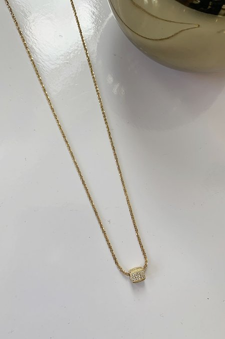 Charme Silkiner Paige Necklace - gold
