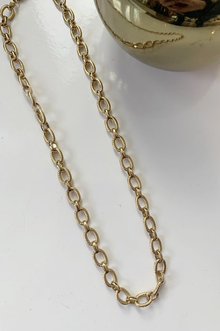 Charme Silkiner Talon Necklace - gold