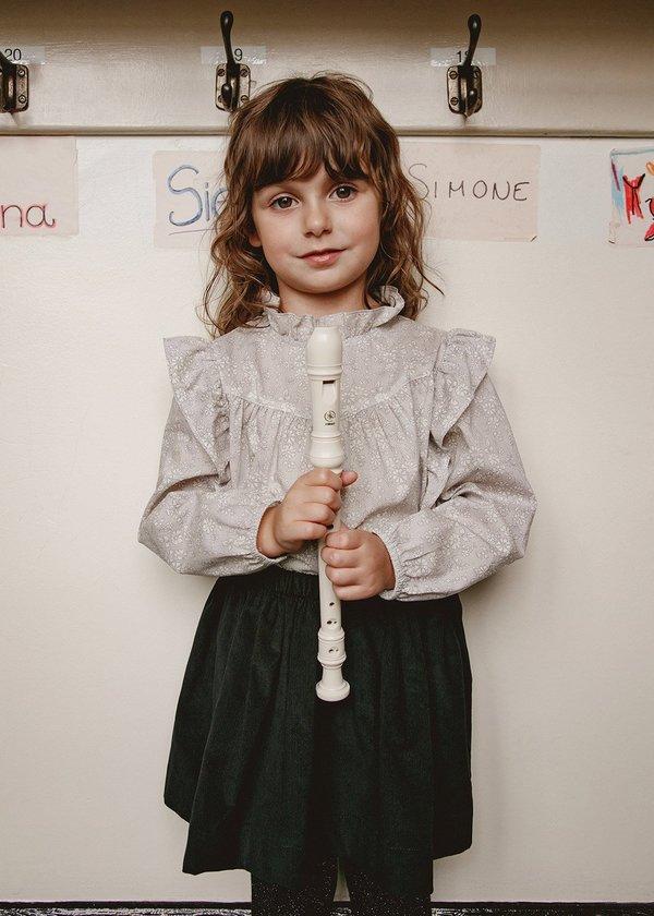 KIDS Petits Vilains Josephine Mini Skirt - Black