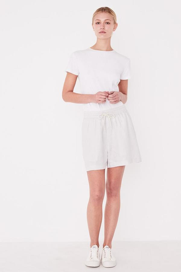 Assembly Label Ease Linen Short - Pumice