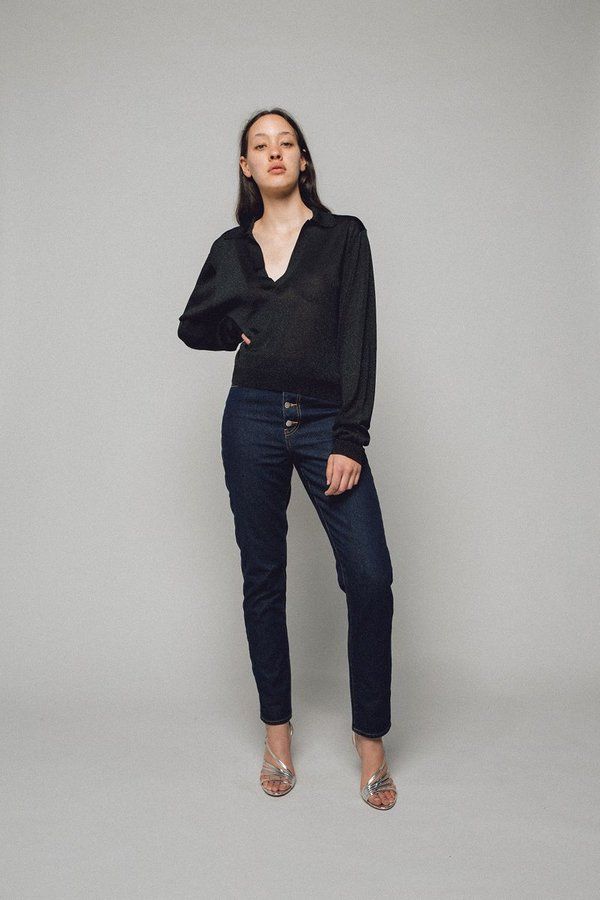 Georgia Alice Straight Leg Denim - Indigo