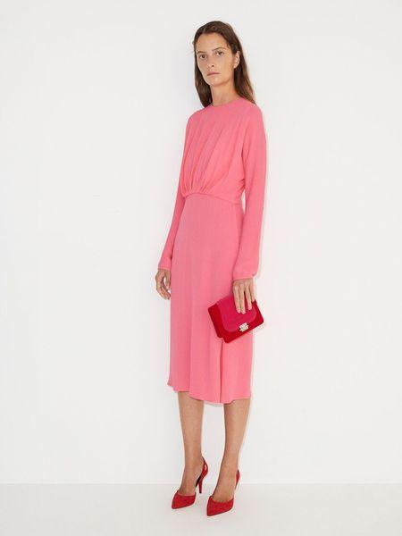 Malene Birger Azolla Dress - BUBBLEGUM