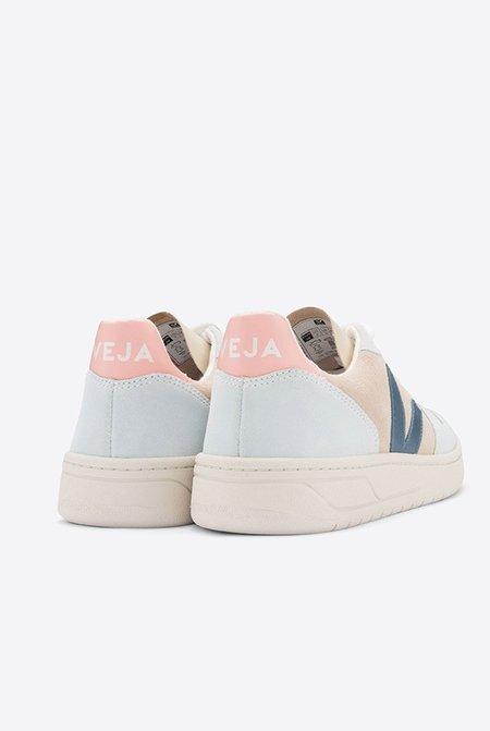 VEJA V10 Suede Sneakers - Multico Almond California