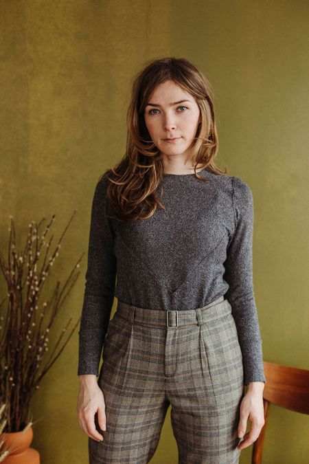 Dagg & Stacey Earnest Sweater - Grey