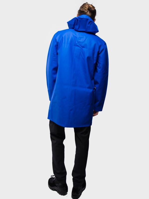 Stutterheim Stockholm Raincoat - electric blue