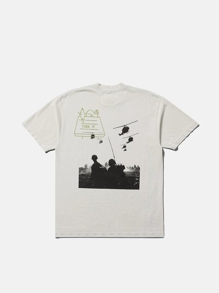 ONE OF THESE DAYS CO. Fuck It Tee - White