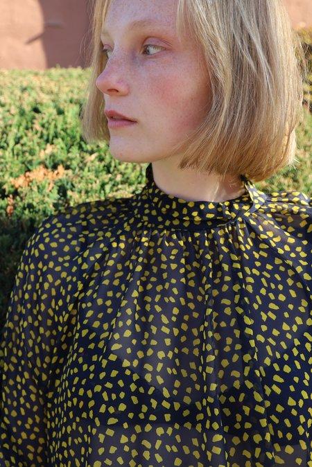 WHiT Harper Blouse - Confetti Print