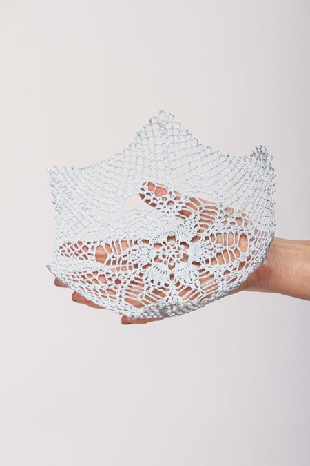 Neonette lace bowl - Light blue