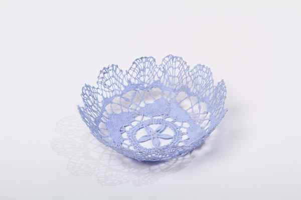 Neonette lace bowl - Mauve