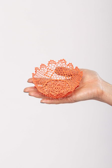 Neonette lace bowl - Peach