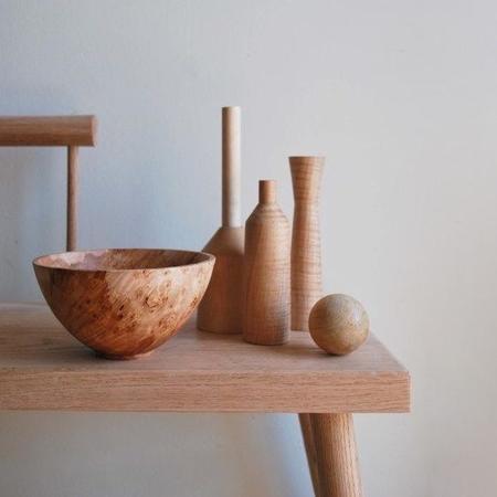 Elise McLauchlan Sculpture Set - maple burl