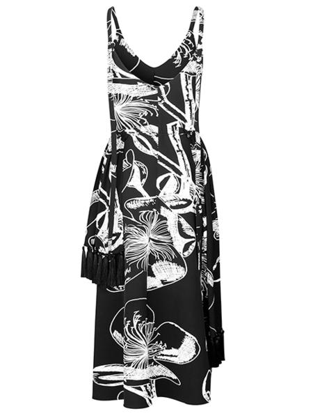 STINE GOYA Basil Dress - Jasmine Black