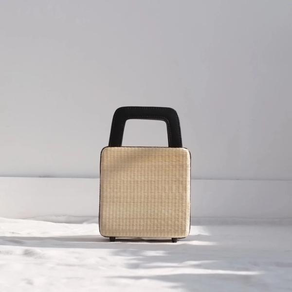 INNÉ Studios Evita Box Bag - Black