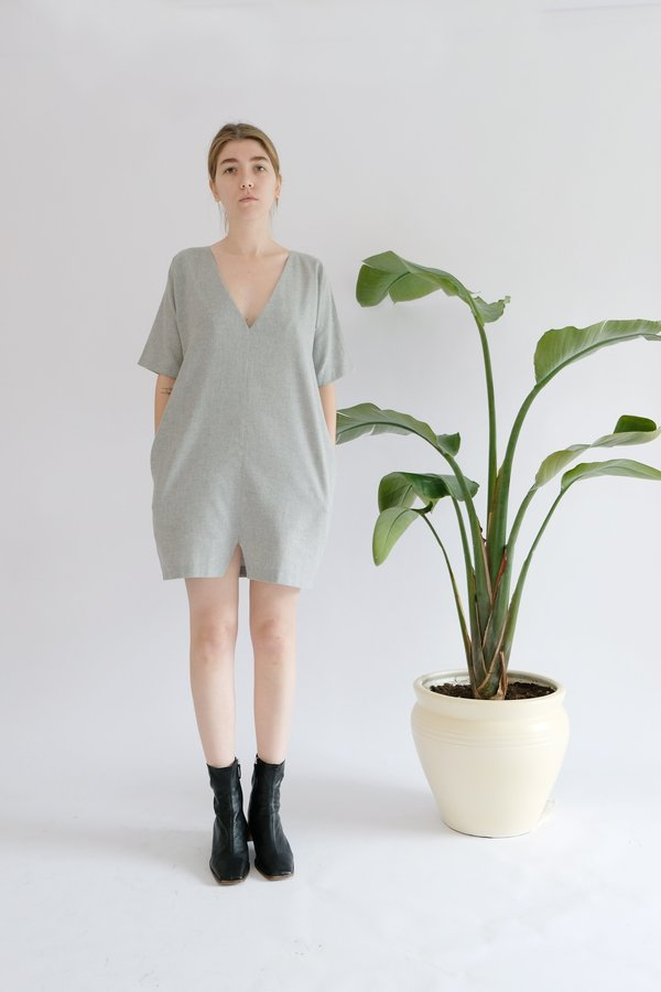 OhSevenDays Wednesday Dress - Grey