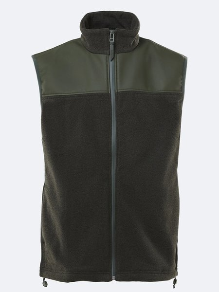 Rains Fleece Vest - Green